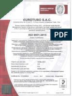 Certificado Iso 9001_2015 - Eurotubo Sac - Acred. Ukas(1)
