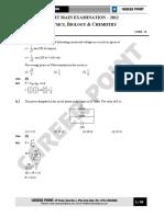 A i Pmt Main Examination Paper