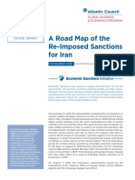 A Road Map of the Re-Imposed Sanctions for Iran