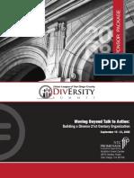 2008 Diversity Summit Sponsor Package