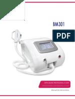 Manual de E-light Bm301 Beaute Total Epiler