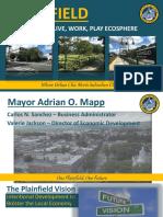 Plainfield's future and recent development