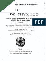 H.pariselle - Precis de Physique