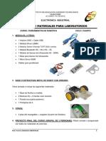 Lista Materiales Robotica 2018