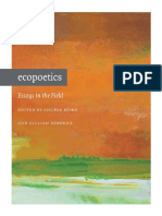 Ecopoetics_ Essays in the Field - Angela Hume