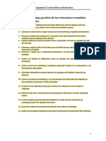 EjemplosPreguntasCortas A EXAMEN DE Mercadotecnia UNIVERSIDAD POLITECNICA DE VALENCIA