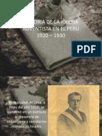 Historia de la Iglesia Adventista en el Perú