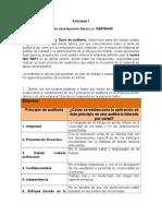 Informe Auditoría - Taller 1 Unidad.doc