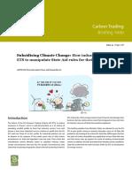 Subsidizing Climate Change