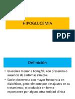 Sistematica de Hipoglucemia e Hiperglucemia 2012