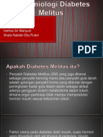 epidemiologi DIabetes militus