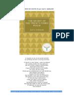 O Segredo Do Salmo 23 - Joel Goldsmith