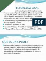 LA PYME EN EL PERU