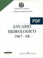 Anuario Hidrologico Angola