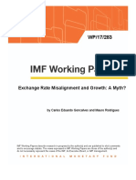 Exchange rate misalignment and growth