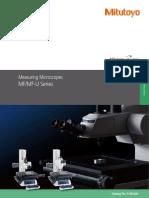 Mitutoyo - Mikroskopy pomiarowe MF i MF-U - E14003(4) - 2017 EN