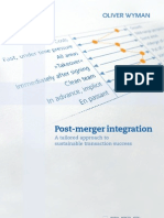 Post Merger Integration En