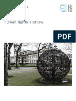Human Rights and Law Printable
