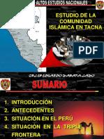 Estudio de La Comunidad Islámica en Tacna