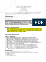 JCC Board Aug. 27 Agenda
