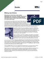(Ebook - Pdf - Music) Miking Jazz Drums.pdf