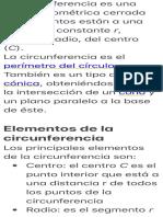 La circunferencia es una figura geométrica cerrada cuyos puntos están…