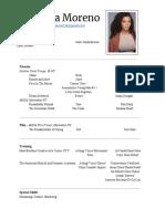 christina morenos acting resume