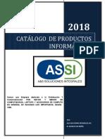 Catálogo 2018 Assi Original Noviembre