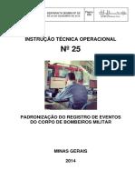 25 - Padronização de Registro de Eventos