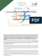 PLAN INSTITUCIONAL EDUCACION FISICA 2018-2019