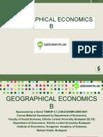 0041 Geographical Economics b