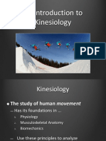 1 - Intro to Kinesiology