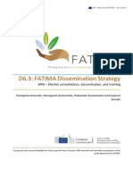 633945 D6.3 FATIMA Dissemination Strategy.compressed