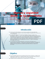 Higiene y Seguridad Dentro de Los Laboratorios