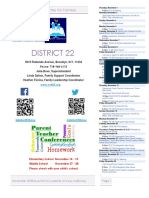 District 22 Newsletter November 2018