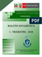 Boletin Estadistico 2018 I