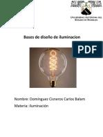 Bases de Diseño de Iluminacion