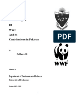 Contributions of WWF in Pakistan