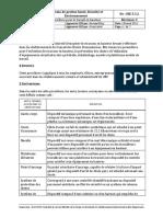 SSE5.3.2-Procedure Travail en Hauteur