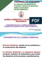 Quimica Ambiental y Elementos de Bioquimica Uni i