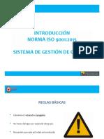 Introduccion ISO 90012015