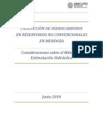 Resumen Ejecutivo Metodo de Estimulacion Hidraulica