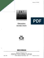 DU640 Manual Text