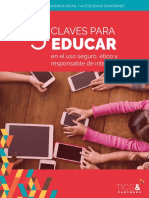 Cinco claves para educar en TICs