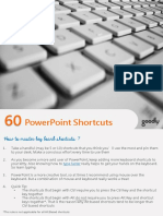 PowerPoint Shortcuts Guide