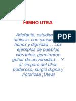 Himno Utea