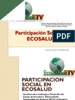 Participación Social en Ecosalud