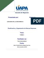 Planificación y Organización de Nuevas Empresas tarea 1.docx