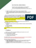 Rolurile Manageriale de Bază Ale Cadrului Didactic