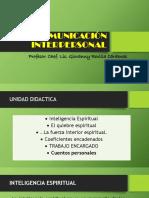 Comunicación Interpersonal Clase 12
